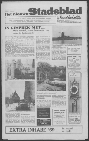 Het Nieuwe Stadsblad 1969-04-11
