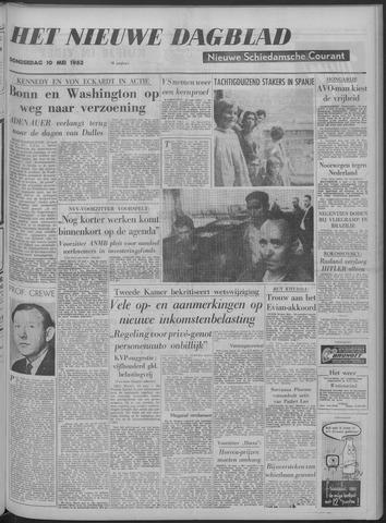 Nieuwe Schiedamsche Courant 1962-05-10