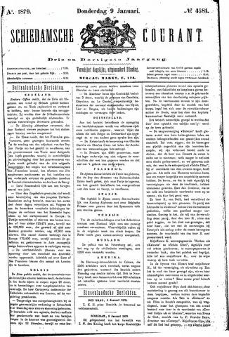 Schiedamsche Courant 1879-01-09