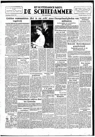 Rotterdamsch Parool / De Schiedammer 1947-07-10