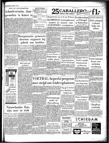 Rotterdamsch Parool / De Schiedammer 1962-11-08