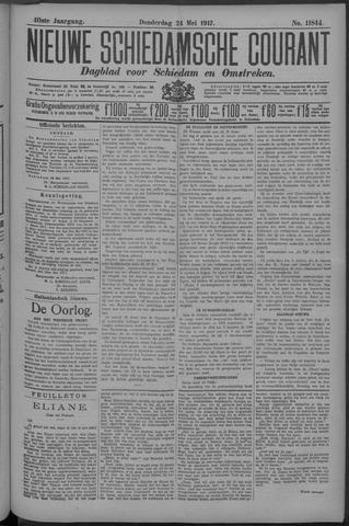 Nieuwe Schiedamsche Courant 1917-05-24