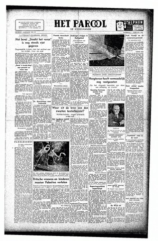Rotterdamsch Parool / De Schiedammer 1947-02-01