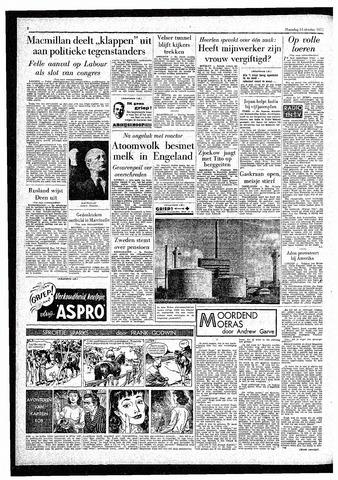 Rotterdamsch Parool / De Schiedammer 1957-10-14