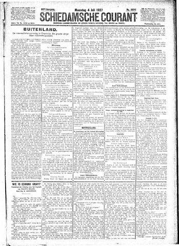 Schiedamsche Courant 1927-07-04