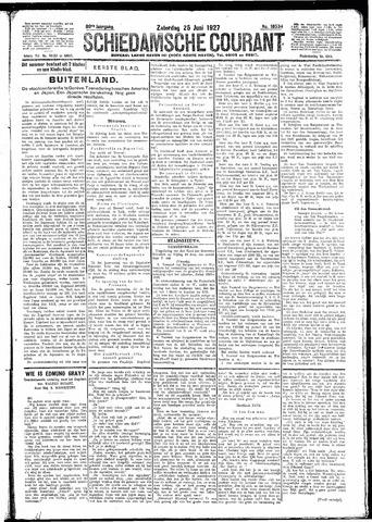 Schiedamsche Courant 1927-06-25