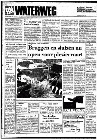Rotterdamsch Nieuwsblad / Schiedamsche Courant / Rotterdams Dagblad / Waterweg / Algemeen Dagblad 1987-04-21