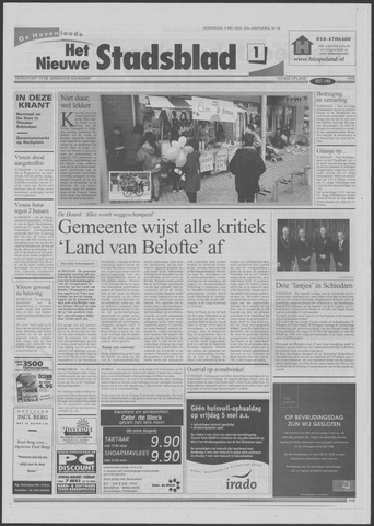 Het Nieuwe Stadsblad 2000-05-03