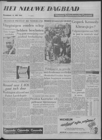 Nieuwe Schiedamsche Courant 1961-05-15