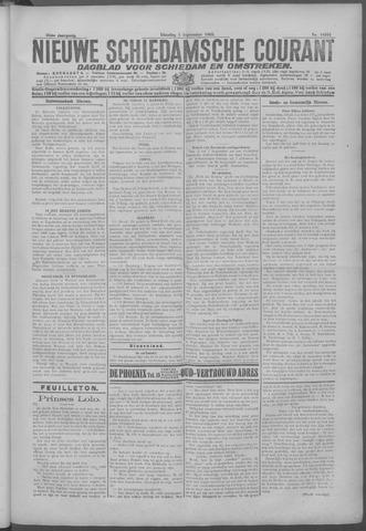 Nieuwe Schiedamsche Courant 1925-09-01