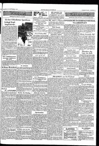 Rotterdamsch Nieuwsblad / Schiedamsche Courant / Rotterdams Dagblad / Waterweg / Algemeen Dagblad 1953-09-28