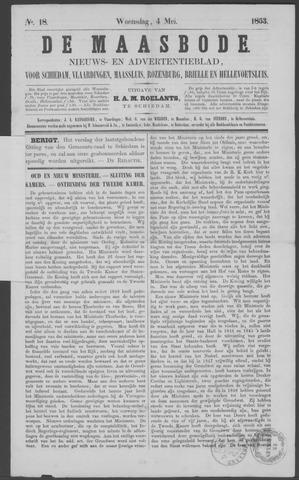 De Maasbode 1853-05-04
