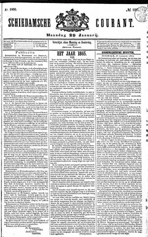 Schiedamsche Courant 1866-01-29