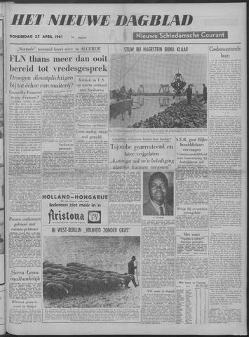 Nieuwe Schiedamsche Courant 1961-04-27