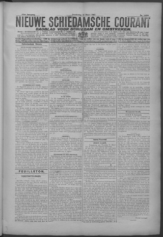 Nieuwe Schiedamsche Courant 1925-03-26