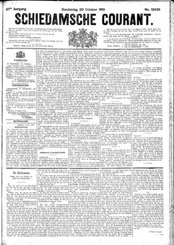 Schiedamsche Courant 1910-10-20