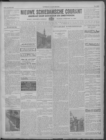 Nieuwe Schiedamsche Courant 1933-01-14