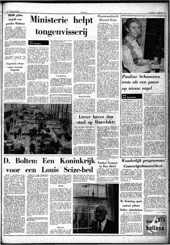 Trouw / De Rotterdammer 1971-02-06