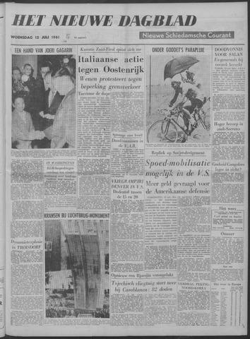 Nieuwe Schiedamsche Courant 1961-07-12