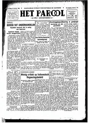 Rotterdamsch Parool / De Schiedammer 1945-10-18