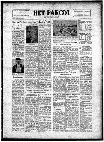 Rotterdamsch Parool / De Schiedammer 1946-04-25