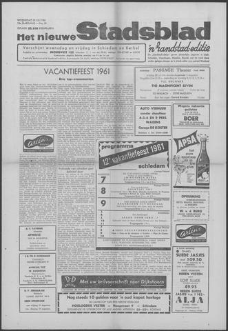 Het Nieuwe Stadsblad 1961-07-26