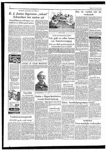 Rotterdamsch Parool / De Schiedammer 1955-11-11