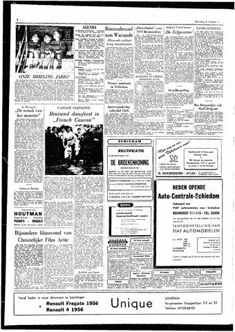 Rotterdamsch Parool / De Schiedammer 1955-10-08