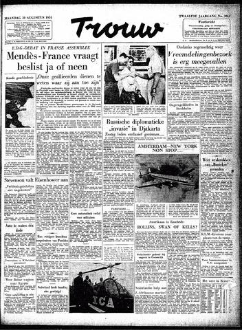 Trouw / De Rotterdammer 1954-08-30