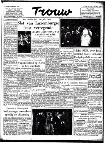 Trouw / De Rotterdammer 1953-04-10