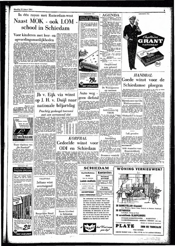 Rotterdamsch Parool / De Schiedammer 1961-03-21