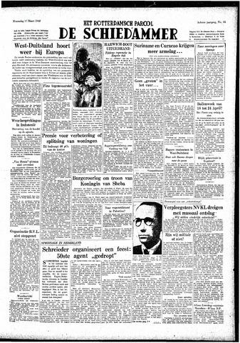 Rotterdamsch Parool / De Schiedammer 1948-03-17
