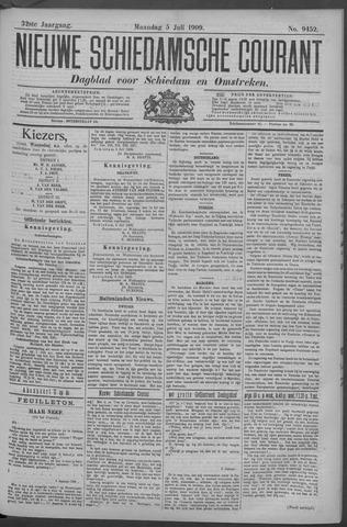 Nieuwe Schiedamsche Courant 1909-07-05