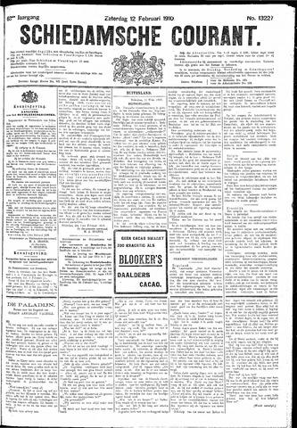 Schiedamsche Courant 1910-02-12