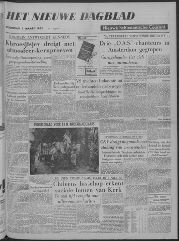 Nieuwe Schiedamsche Courant 1962-03-07