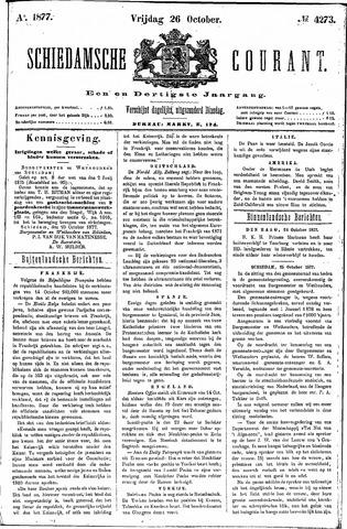 Schiedamsche Courant 1877-10-26