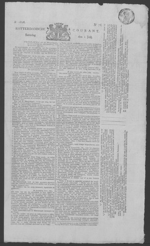 Rotterdamse Courant 1826-07-01