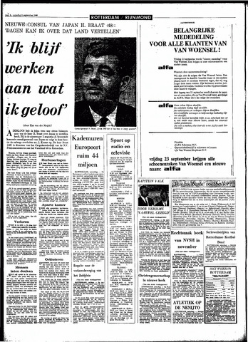 Rotterdamsch Parool / De Schiedammer 1966-09-03