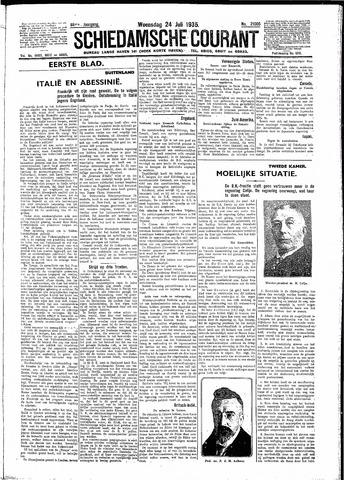 Schiedamsche Courant 1935-07-24