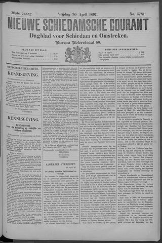 Nieuwe Schiedamsche Courant 1897-04-30