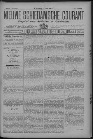 Nieuwe Schiedamsche Courant 1913-07-02
