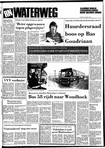 Rotterdamsch Nieuwsblad / Schiedamsche Courant / Rotterdams Dagblad / Waterweg / Algemeen Dagblad 1983-01-25