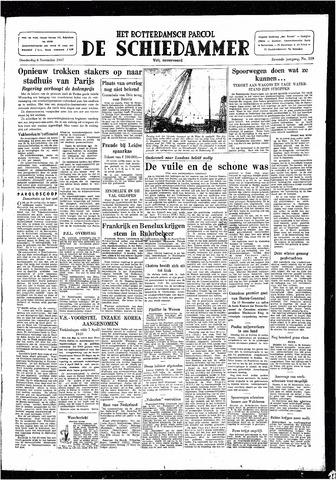 Rotterdamsch Parool / De Schiedammer 1947-11-06