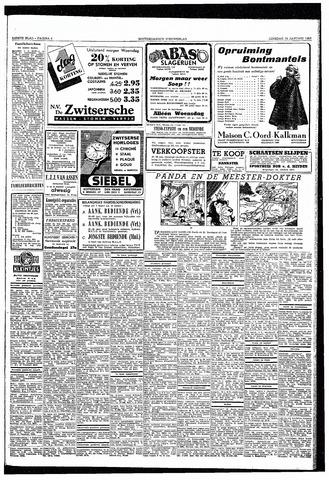 Rotterdamsch Nieuwsblad / Schiedamsche Courant / Rotterdams Dagblad / Waterweg / Algemeen Dagblad 1953-01-13