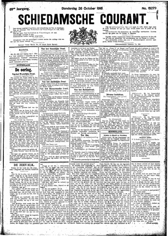 Schiedamsche Courant 1916-10-26