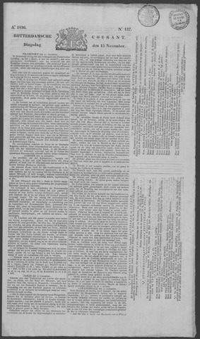 Rotterdamse Courant 1836-11-15