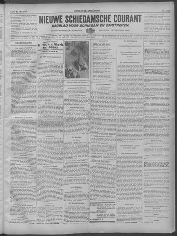 Nieuwe Schiedamsche Courant 1932-01-12