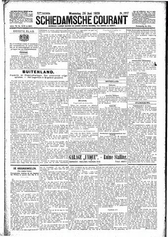 Schiedamsche Courant 1929-06-26