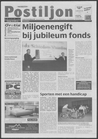 Postiljon 2001-04-19