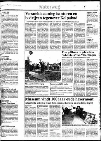Rotterdamsch Nieuwsblad / Schiedamsche Courant / Rotterdams Dagblad / Waterweg / Algemeen Dagblad 1991-07-22